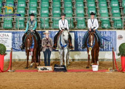 European Champion 2019 Western Riding